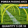 FORZA Passing Arcs - SHATTERPROOF PLASTIC - Sets of 5 or 10 Accuracy Trainers
