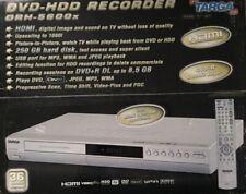 Targa DRH-5600x DVD-Recorder mit Festplatte 250 GB silber HDMI USB DivX ShowView