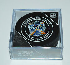 2018 WINTER CLASSIC OFFICIAL GAME PUCK New York Rangers vs Buffalo Sabres NEW