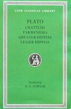 Loeb Classical Library:Cratylus,Parmenides,Greater Hippias,Pl... 1926 HB 160625