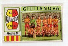 figurina - CALCIATORI PANINI 1976/77 NEW - NUMERO 556 GIULIANOVA SQUADRA