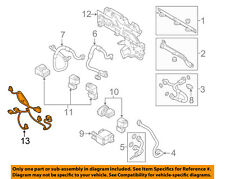 volkswagen 3 wire harness in other parts ebayvw volkswagen oem 15 18 e golf auxiliary heater hvac wire harness