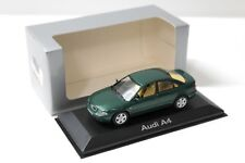 1:43 Minichamps Audi A4 (B5) Sedan green DEALER SP NEW bei PREMIUM-MODELCARS