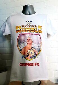 Medium T-shirt - WWF Royal Rumble Ric Flair Wrestling. Vintage T-shirt 1992