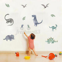 Animal Dinosaur Wall Sticker Self-Adhesive Children Room Cartoon Art Decor