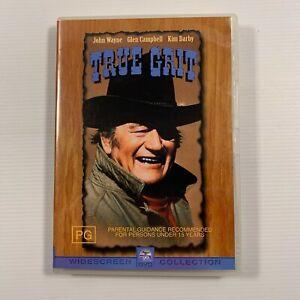 True Grit (DVD 2002) 1969 film John Wayne, Glen Campbell Region 4