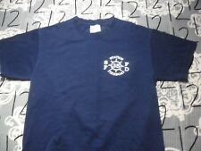 Small- Station Fire Boat 35 Fire Department T- Shirt