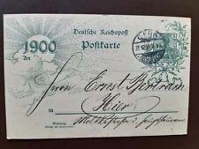 Gera 1899 1900 Postkarte