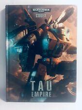 HARDBACK Warhammer 40K Codex TAU EMPIRE