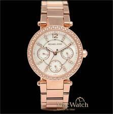 Michael Kors Damen Uhr MK5616 Mini Parker Rose Perlmutt Armbanduhr