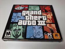 Grand Theft Auto 3 Iii (Pc, 2002) Sealed Brand New