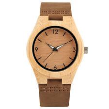 Fashion 2019 Wood Watch Women Wooden Bracelet Top Quartz Ladies WristWatch