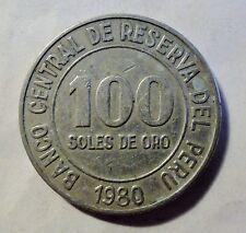 Peru 100 Soles - 1980 - ss-vz erhalten (1708