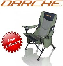 NEW DARCHE 260 CAMP CHAIR DOUBLE PADDED FOLDABLE CAMPING SEATS HIKING LOUNGE