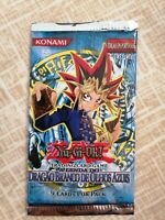 YuGiOh Blue Eyes White Dragon Booster Pack Factory Sealed Portuguese 1 Edition