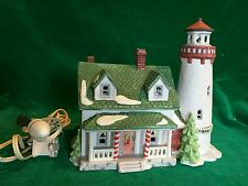 Retired Dept 56 Heritage Collection New England Village Craggy Cove Lighthouse