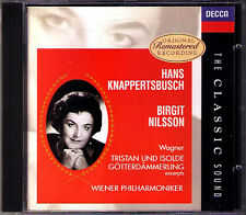 Birgit NILSSON & KNAPPERTSBUSCH WAGNER Classic Sound CD GÖTTERDÄMMERUNG ISOLDE