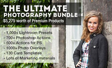 The Ultimate Photography Bundle for Photoshop and Lightroom (WIN/MAC)
