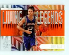 2019-20 PANINI ILLUSIONS LIVING LEGENDS ORANGE ACETATE STEVE NASH INSERT CARD 11