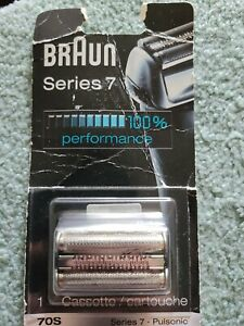 Braun Series 7 70S Electric Shaver Head Replacement Cassette – Silver