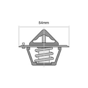 Tridon Thermostat TT1-195 fits Ford Fairmont 4.0 (AU), 4.0 (BA), 4.0 (BF), 4....