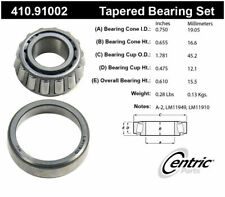 Centric Parts 410.91002 Front Outer Bearing Set