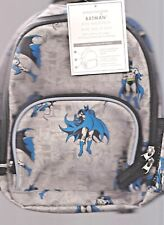 POTTERY BARN KIDS BATMAN BACKPACK,  PRE K , NEW, NO monogram, new with tags