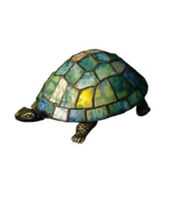 Meyda Tiffany 10270 Turtle Stained Glass / Tiffany Specialty Lamp - Tiffany