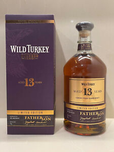 Wild Turkey 13yo Father & Son Limited Edition - 1 Litre - Free Shipping
