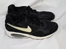 Men's Nike Air Max ST Running Shoes black white size 7.5 sneakers tennis