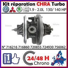 CHRA TURBO CARTOUCHE SEAT 2.0 TDI 140 cv GARRETT GT1749V 724930 GTA1749MV /935