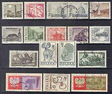 Poland 1966 Sc.1439-49 & 1461-5.