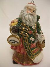 FITZ and FLOYD Father Christmas Annual Ornament 1995