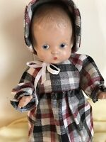 Vintage Antique Effanbee Composition Patsy Doll Cute In Clothes And Shoes!