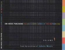 EMI Music Publishing Presents Classic Songs Of The Motown Era Volume 1 PROMO CDs