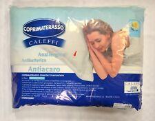 COPRIMATERASSO matrimoniale trapuntato caleffi antiacaro antibatterico