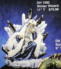 Ceramic Bisque Winter Wizard Doc Holliday Mold 1582 U-Paint Ready To Paint