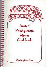 WASHINGTON IA 2003 UNITED PRESBYTERIAN HOME *CHURCH COOK BOOK IOWA COMMUNITY