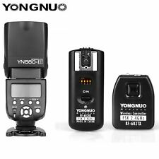 Yongnuo YN560III Flash Speedlight + RF-602 2.4GHz Wireless Remote Trigger Kit