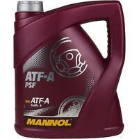 4 Liter Original MANNOL Automatikgetriebeöl ATF-A PSF Getriebe Öll Gear Oil