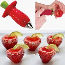 Strawberry Gem Berry Stem Leaves Huller Remover Kitchen Fruit Corer Tools