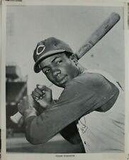 Frank Robinson Cincinnati Reds HOF 8x10 Vintage Manny's Issued 1961 Photo