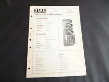 Original Service Manual SABA  Multiplex Adapter 12