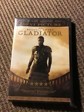 Gladiator Russell Crowe Dvd, Brand New Single Disc Edition, Dreamworks