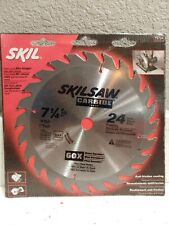 Skill Saw 7 1/4 In. Blade 24 Tooth framing.