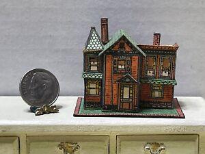 Vintage Artisan NEWSTROM '80 Dollhouse For Dollhouse Dollhouse Miniature 1:12
