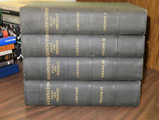 Washington A History Past and Present in 4 Volumes John Clagett Proctor HC 1930