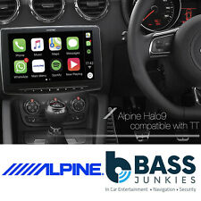 "AUDI TT MK2 06-14 Alpine 9"" Touchscreen DAB Bluetooth CarPlay Android Car Stereo"