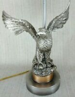 Vintage Rare Cast Bronze Eagle lamp from the 1930s hard to find.