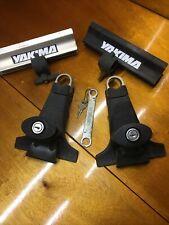 New Listingyakima Rain Gutter Towers 2 Locks With Key Wrench Amp 2 Bicycle Bike Wheel Cradles